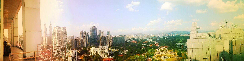 i♥kl Panorama Kuala Lumpur Hello World Enjoying Life