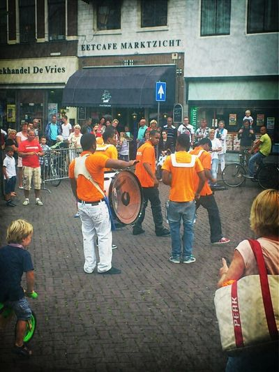Brassband that so less people can make such much noise