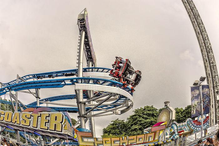 Amusement Park Amusement Park Ride Annakirmes Architecture Arts Culture And Entertainment Built Structure City Culture Fun HDR Kermis Kirmes Leuk Outdoors Sky Spa Tourism Wilde_Maus
