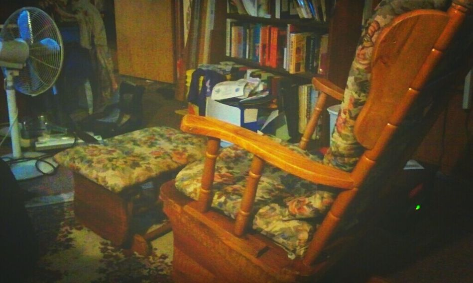 Reclaimed gliderrocker and footstool from being trashed. Taking Photos Check This Out I Like My Style Recycled
