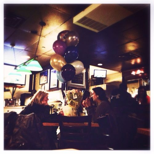 Party time! Balloons Birthday Drinking