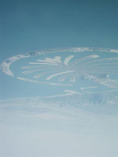 From An Airplane Window Palm Beach, Dubai. Yudhvir