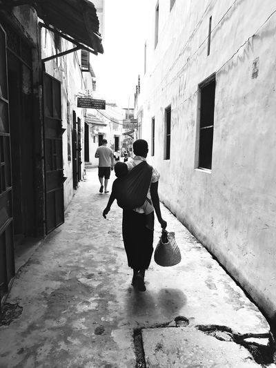 Streets of Lamu city
