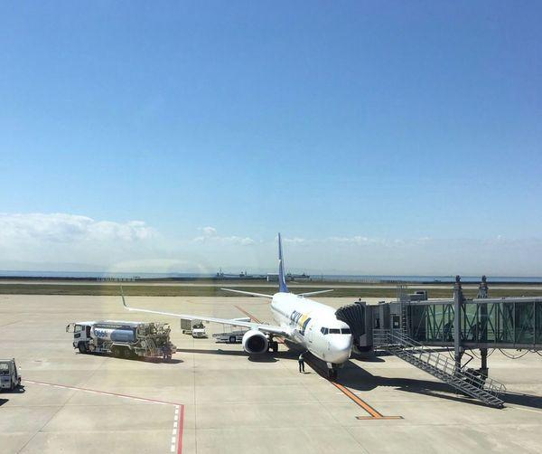 神戸空港 Clear Sky