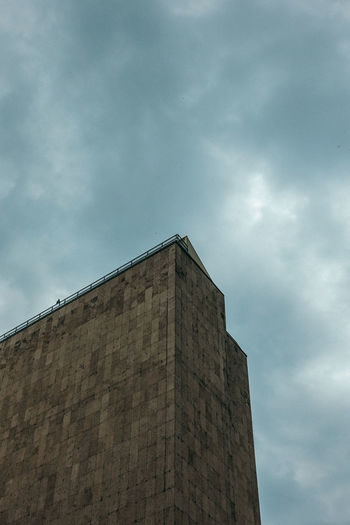 Travel Travel Photography Architecture Building Building Exterior Built Structure Cloud - Sky Concrete Day History Industry Low Angle View Nature No People Outdoors Overcast Sky Tall - High The Past Tower Wall Wall - Building Feature