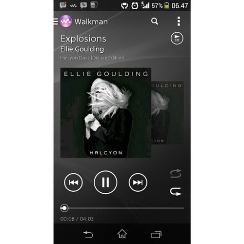 @elliegoulding love this song 4evrr. Nowplay Elliegoulding Explosions Halcyondays morning listening
