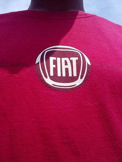 Showing Off My Fiat Shirt