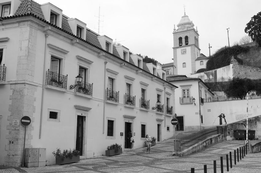 Architecture Building Exterior Travel Destinations Built Structure Outdoors City History Clock Sky No People Day Clock Face Preto E Branco Noir Et Blanc Black And White Square Igreja Church Eglise