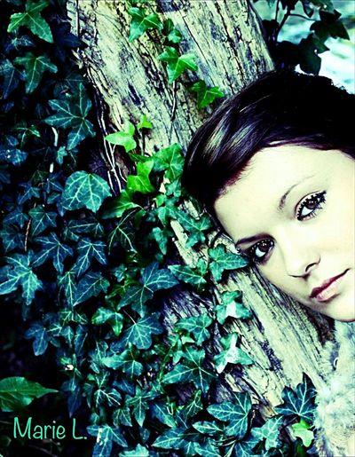 Young Women Me Selfie Portrait One Person Headshot Plant Outdoors Nature France Rheims Reims Followme