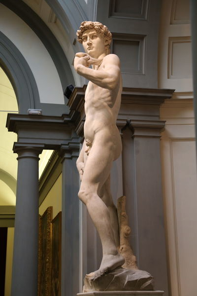 David Florence Italy Accademia Architectural Column Architecture Art And Craft Building Exterior Built Structure Day History Human Representation Low Angle View Male Likeness Marble Michelangelo's David Museum No People Outdoors Renaissance Sculpture Statue Travel Destinations