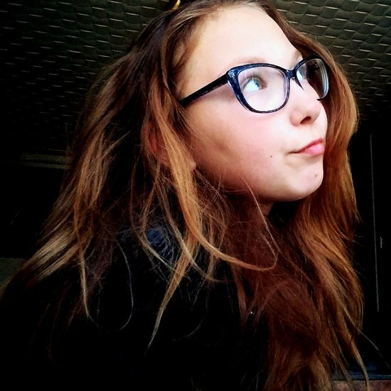 Blond Hair Long Hair People Young Adult Beauty Blueeye Darkblonde Photography Photo Picsart_family Eliza  I Lovethispicture Lovethispic Portrait Spring Smile Smartphone Photography Nomodel Dreaming Eyeglasses  Indoors  First Eyeem Photo