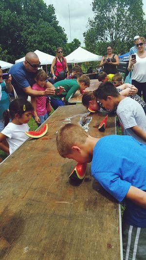 Watermelon Contest Summer Summertime