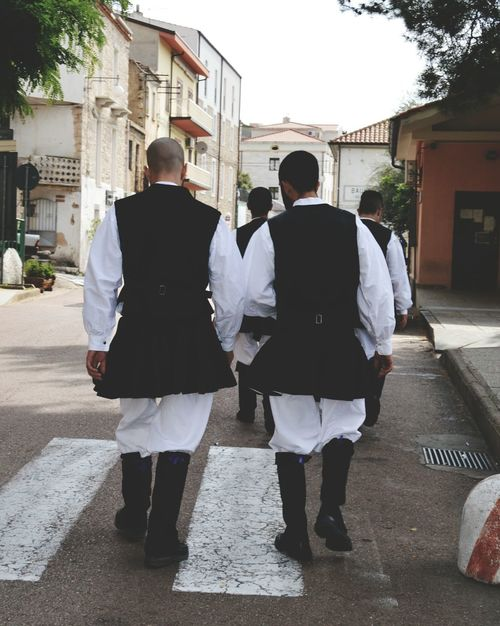 Person Church Sardegna Baunei Persone Processione Costume Nature_perfection