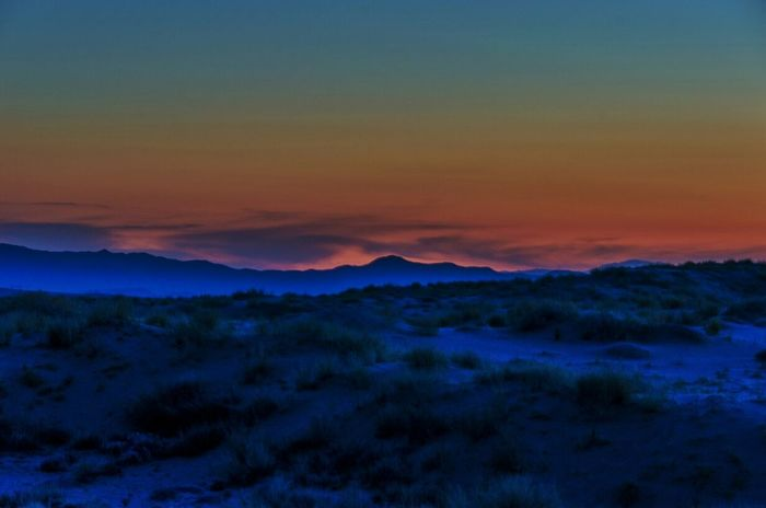 so many things that can't be undone - so many paths walked only one way - so many lights we only see once - so many colors that just fade away @ Mojave National Preserve near Kelso Dunes, CA