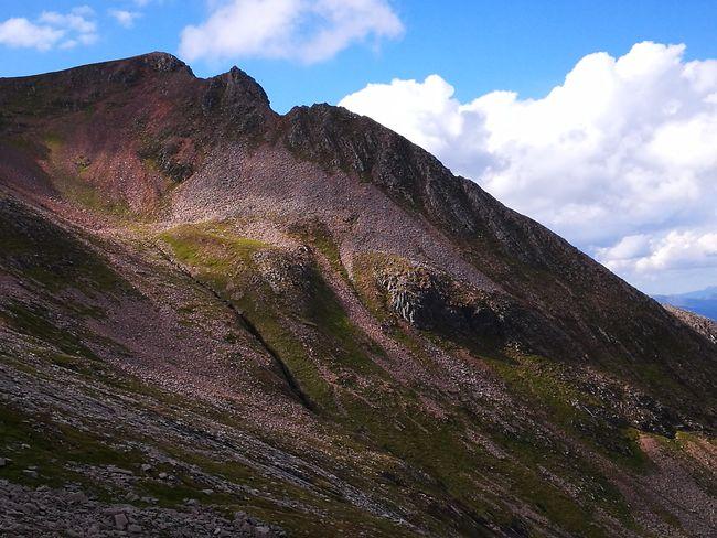Pinnacle Ridge Timeless Mountain Scenery Carn Mor Dearg Scotland U.K. landscape Nature photography