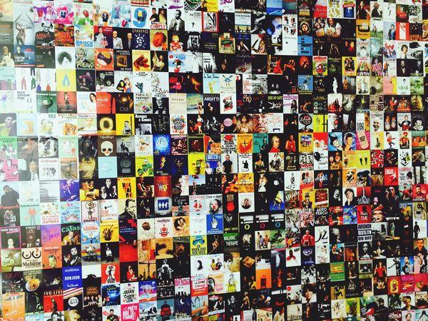 Avignon France Poster Post Art AvignonFestival Wall