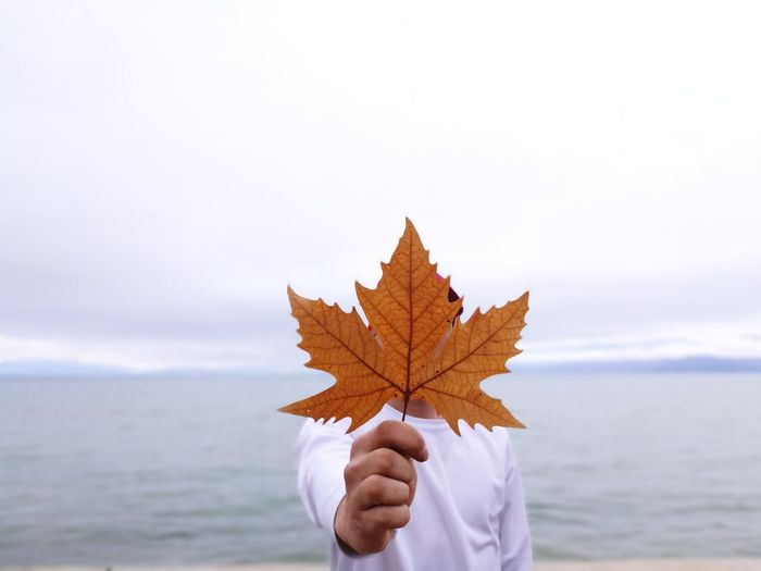 Portrait Autumn Leaf Nature Maple Leaf Beauty In Nature EyeEm Selects EyeEmNewHere Leicacamera HuaweiP9