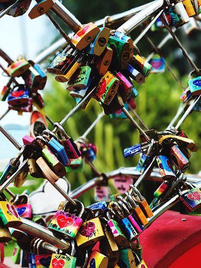 padlock Padlock Padlocks Key Keys Lovers