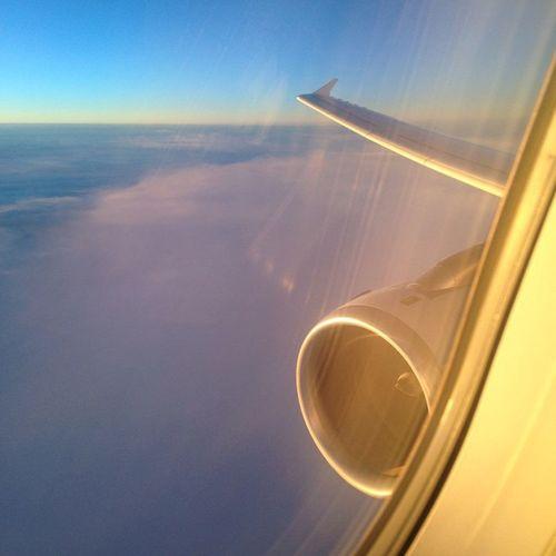 Flight TXL-MUC today felt like a 30min summer vacation Sun Lufthansa DLD15 Berlinwinter
