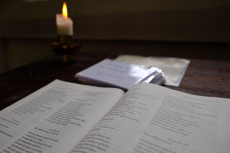 Church Church Interior Psalm Books Faith Religion Spirituality Candle Sankt Petri Kyrka House Of Worship Malmö Sweden