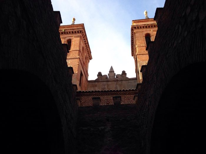 Architecture Building Exterior Built Structure Low Angle View Sky No People Place Of Worship Outdoors History Day Toledo Toledo Spain