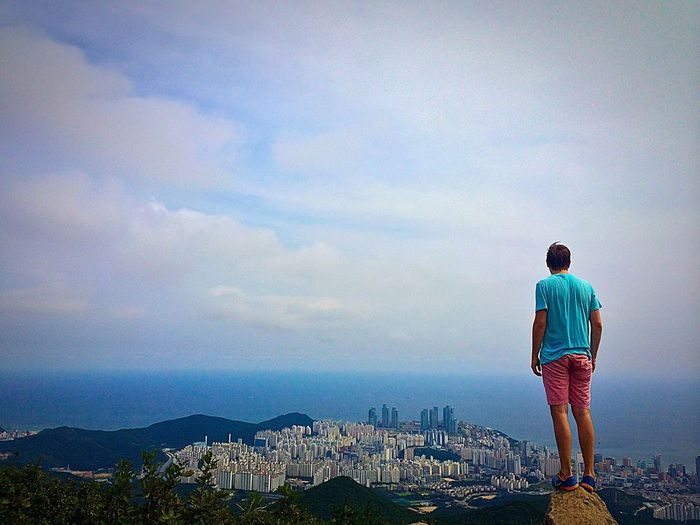 Such Great Heights. 부산 Busan Hiking First Eyeem Photo