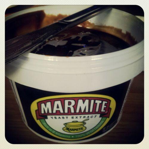 November photo-a-day challenge. Day 3. Breakfast. Bucket of Marmite anyone? Fmsphotoaday Breakfast Marmite