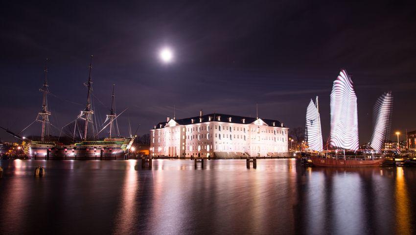 Learn & Shoot: After Dark Amsterdam Scheepvaartmuseum Ship