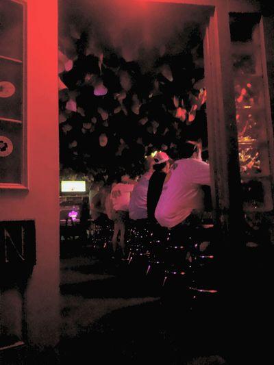 Weird Bar Strange Things People Doorway