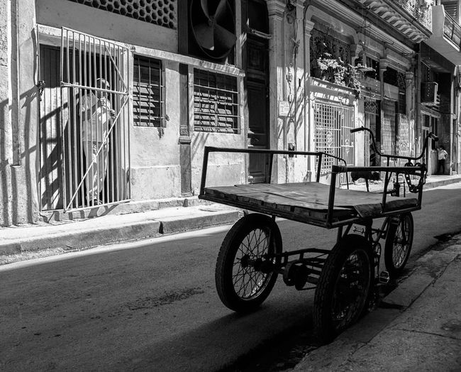 Havana street life Streetphotography Havana City Land Vehicle Stationary Road Bicycle Street Architecture Built Structure EyeEmNewHere