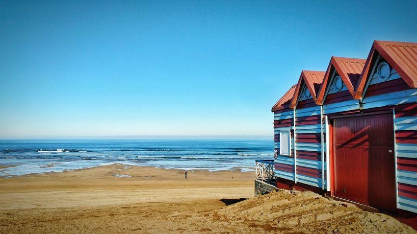 La Arena Euskalherria Bizkaia Beach Sand Sea Summer Horizon Over Water Vacations Blue