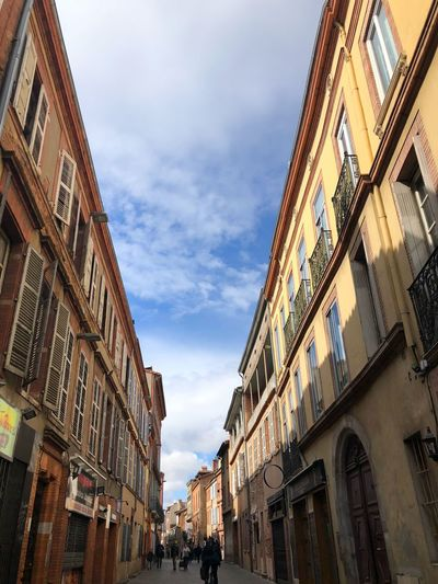 Toulouse Toulouse EyeEm Selects Architecture Building Exterior Low Angle View Built Structure Sky Cloud - Sky