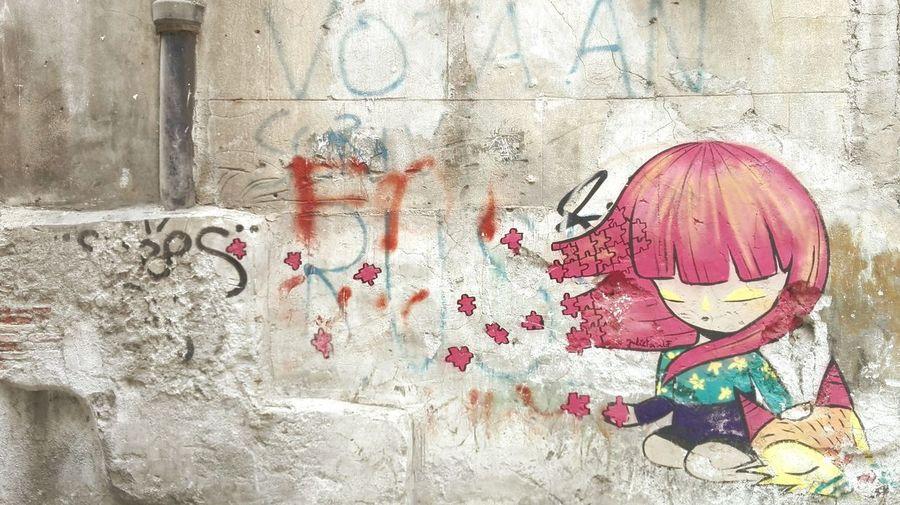 Streetart Streetphotography Graffiti Art Palermocity Color Historical Center Lovethiscity Justalittlebit Boring