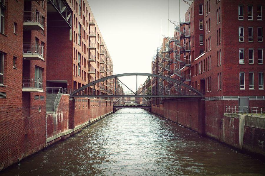 Taking Photos Bridge Hamburgcity Nice View Waterstreet Photowalk Loveit Beautiful Place