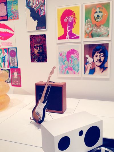 OpenEdit Taking Photos Check This Out Hanging Out Moma Newyork Music The Beatles TalkingHeads Bands the MOMA is my fav museum