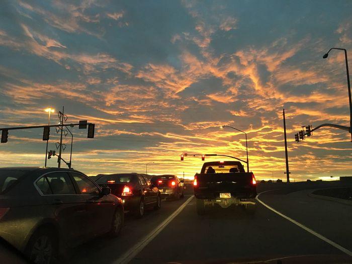 Sunset Commute