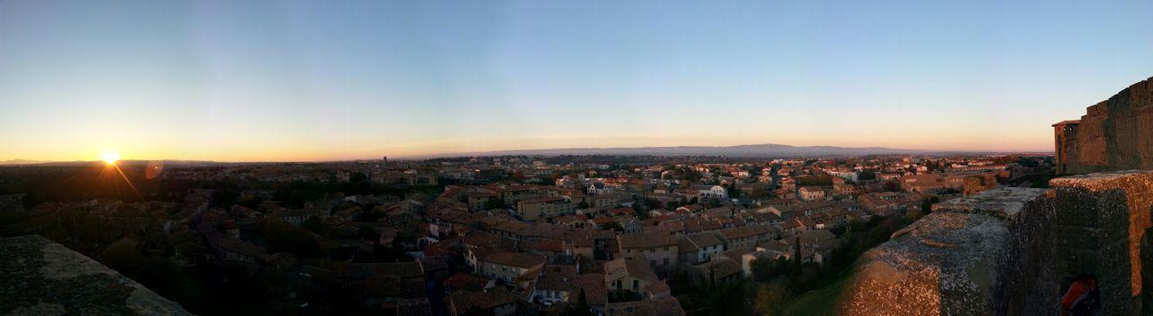 Carcassone, France France Panorama