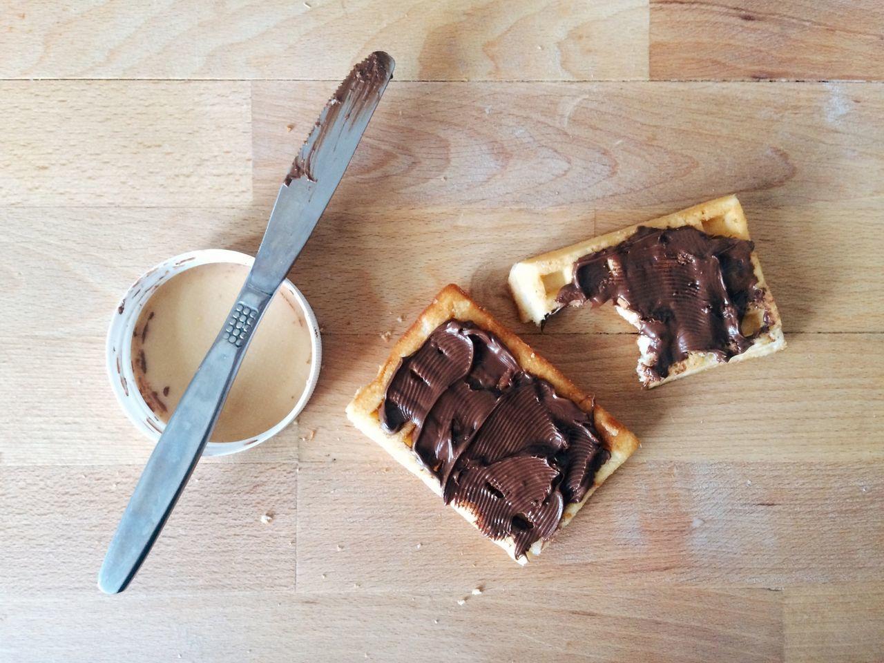 View of breakfast