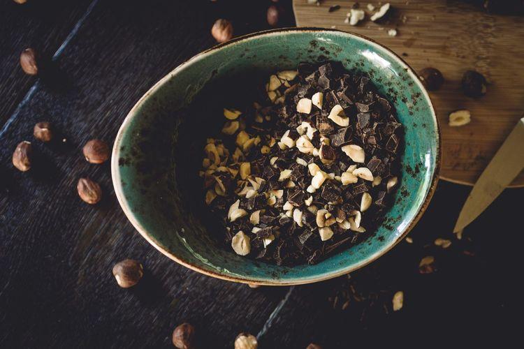 nuts & chocolate Foodporn Food Porn Awards Foodblogger Foodphotography Foodblog Food Getting Inspired EyeEm Best Shots