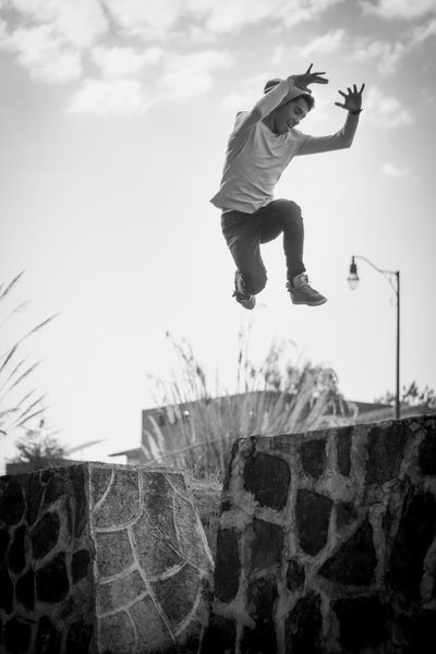 Young Men EyeEm Best Shots EyeEm Gallery EyeEm Selects EyeEmBestPics Skateboard Park Athlete Extreme Sports Stunt Sportsman Sport Full Length Men Skill  Jumping