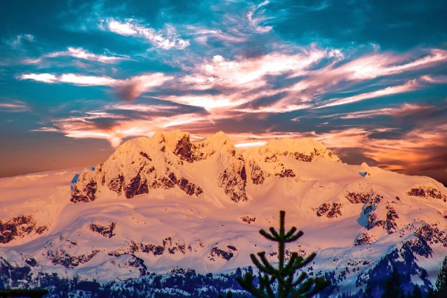 COTTON CANDY Beautiful Casual Adventure Sky Blue Mountain Beauty In Nature Scenics Nature Tranquility Sky Tranquil Scene Snow Cloud - Sky Cold Temperature Mountain Winter Weather Outdoors Landscape No People Sunset Mountain Range Travel Destinations Day