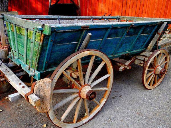 Horse Drawn Wagon Old Wagon Old Green Western Wagon Pioneer Wagon Rustic Western Wag Wild West Wagon