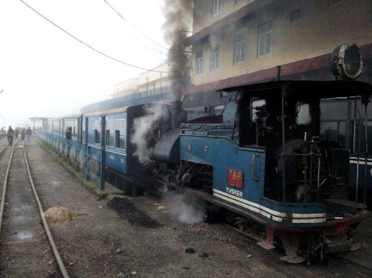 The Heritage toy train of Darjeeling.. Darjeeling Toy Train Darjeeling India