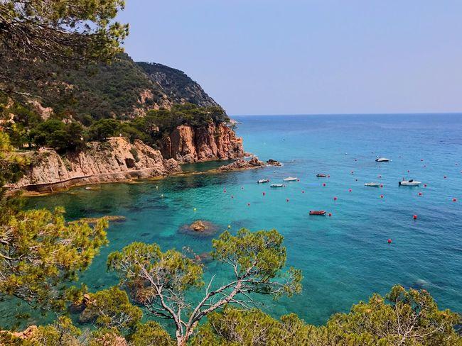 Costa brava onfire!!! Bufff .. Beauty In Nature Rock - Object Water Tranquility Beach Horizon Over Water Sueñaconmigo Fashion