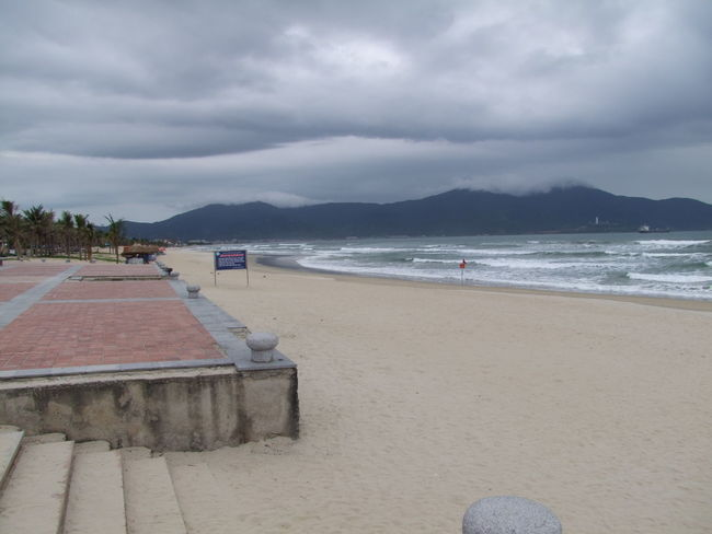 China Beach Beach Beauty In Nature China Beach Cloud Cloud - Sky Composition Danang Day Grey Clouds Mountain Nature No People Outdoor Photography Outdoors Sand Scenics Sea Shore Tourist Attraction  Tranquil Scene Tranquility Vietnam Water