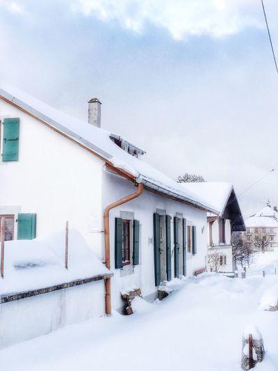 Winter Hiver Neige Vaud
