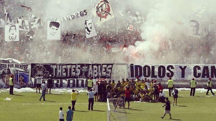 Fútbol = Fiesta Clasico VamosColoColo Ruca Monumental  Campeonodromo Colocolo  GarraBlanca
