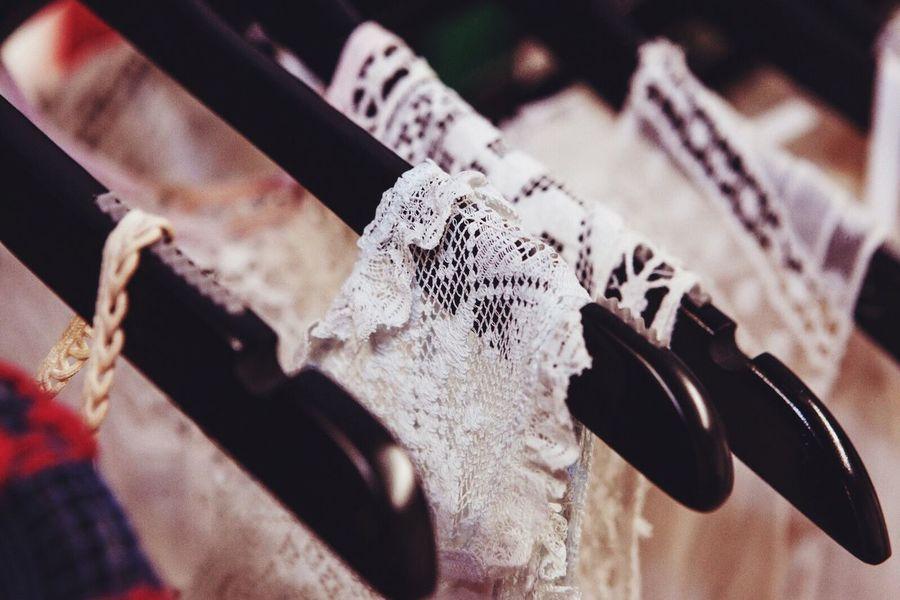 Summer Clothes Hangers Shop White Lacw Lace Lacey