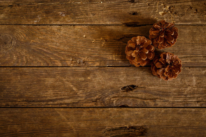 Brown Close-up Copy Space Directly Above Dry Food Food And Drink Freshness Healthy Eating High Angle View Indoors  Ingredient No People Plank Spice Still Life Table Textured  Wellbeing Wood - Material