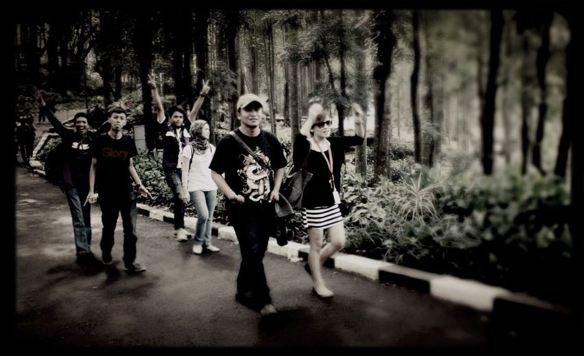 Walking Around